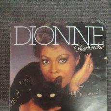 Discos de vinilo: DIONNE HEARTBREAKER SELLO: ARISTA ?– 104 704 FORMATO: VINYL, 7 , 45 RPM, SINGLE PAÍS: FRANCE . Lote 172907487