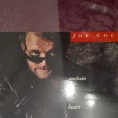 Discos de vinilo: JOE COCKER UNCHAIN MY HEART. Lote 172912859