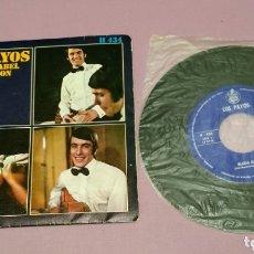Discos de vinilo: SINGLE DE LOS PAYOS. MARÍA ISABEL. COMPASIÓN. Lote 172920409