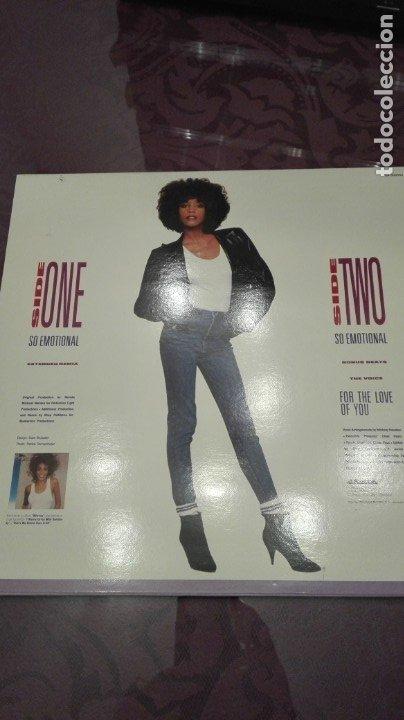 Discos de vinilo: Whitney Houston So emotional - Foto 2 - 172925654