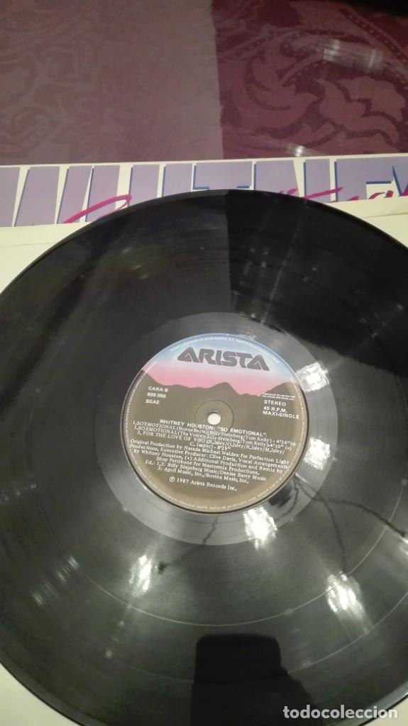 Discos de vinilo: Whitney Houston So emotional - Foto 3 - 172925654