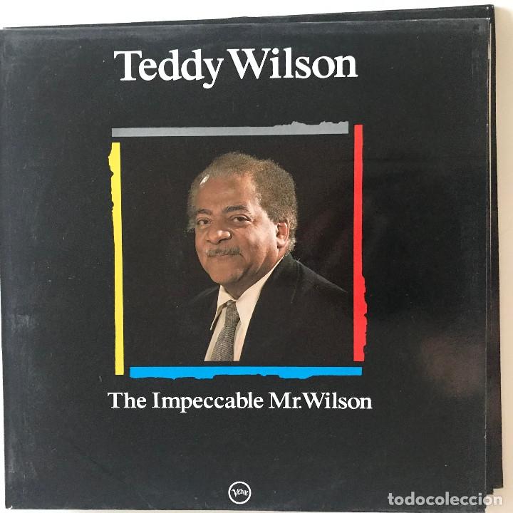 TEDDY WILSON - THE IMPECCABLE MR. WILSON - LP MAESTROS DEL JAZZ 1988 (Música - Discos - LP Vinilo - Jazz, Jazz-Rock, Blues y R&B)