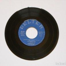 Discos de vinilo: PEPINO DI CAPRI - SUEÑO DE AMOR TWIST (1962) - EP SINGLE SIN CARATULA, SÓLO DISCO -. Lote 172933299