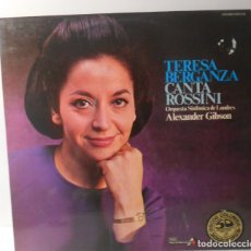 Discos de vinilo: TERESA BERGANZA CANTA ROSSINI LP SPAIN 1975. Lote 172940638