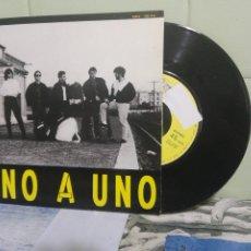 Discos de vinilo: UNO A UNO DOCE CARTAS SINGLE SPAIN 1990 PDELUXE. Lote 172944393