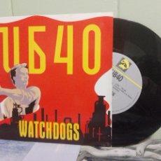 Discos de vinilo: UB40 WATCHDOGS SINGLE UK 1987 PDELUXE. Lote 172944702