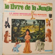 Discos de vinilo: LE LIVRE DE LA JUNGLE - CHANSONS - PHILIPS. Lote 172945449