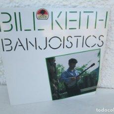 Discos de vinilo: BILL KEITH. BANJOISTICS. LP VINILO. ROUNDER RECORDS 1984. VER FOTOGRAFIAS ADJUNTAS. Lote 172948138