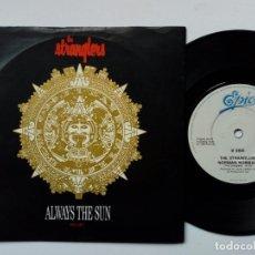 Discos de vinilo: SINGLE - THE STRANGLERS - ALWAYS THE SUN + NORMAL NORMAL (EPIC, 1986) . Lote 172953112