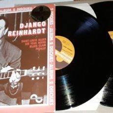 Discos de vinilo: 2LP - DJANGO REINHARDT - MADE IN FRANCE - GATEFOLD - DJANGO REINHARDT - SAINT LOUIS BLUES. Lote 182705446