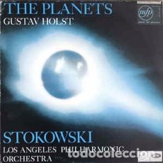 Discos de vinilo: HOLST* - LEOPOLD STOKOWSKI CONDUCTING THE LOS ANGELES PHILHARMONIC ORCHESTRA* - THE PLANETS (LP) . Lote 172954467