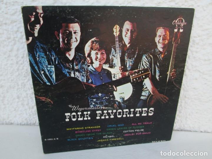 THE WAGONMASTERS FOLK FAVORITES. DEDICADO POR LOS AUTORES B.BEEMAN. H.WALKER. R.BEEMAN. E.EKLUND. (Música - Discos - LP Vinilo - Country y Folk)