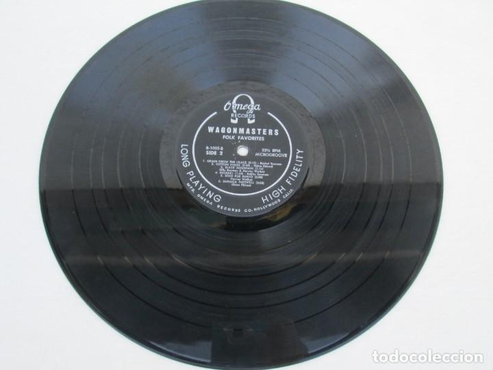 Discos de vinilo: THE WAGONMASTERS FOLK FAVORITES. DEDICADO POR LOS AUTORES B.BEEMAN. H.WALKER. R.BEEMAN. E.EKLUND. - Foto 5 - 172955237