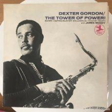 Discos de vinilo: DEXTER GORDON - THE TOWER OF POWER! (1969) - LP NUEVOS MEDIOS 1987. Lote 172955769
