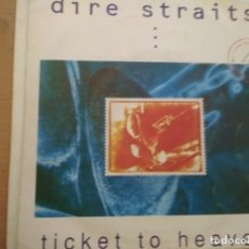 Discos de vinilo: DIRE STRAITS TICKET TO HEAVEN SINGLE SPAIN PROMO. Lote 172959700