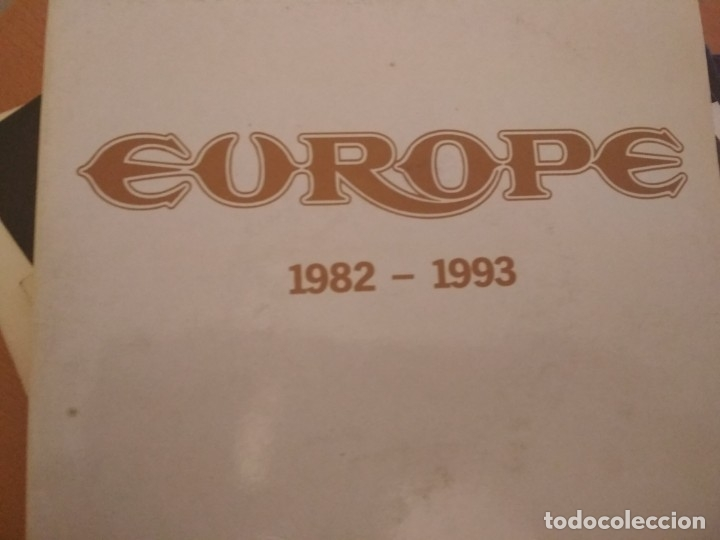 EUROPE 1982-1993 DOBLE SINGLE GATEFOLD PROMOCIONAL SPAIN (Música - Discos - Singles Vinilo - Heavy - Metal)