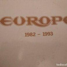 Discos de vinilo: EUROPE 1982-1993 DOBLE SINGLE GATEFOLD PROMOCIONAL SPAIN. Lote 172959995