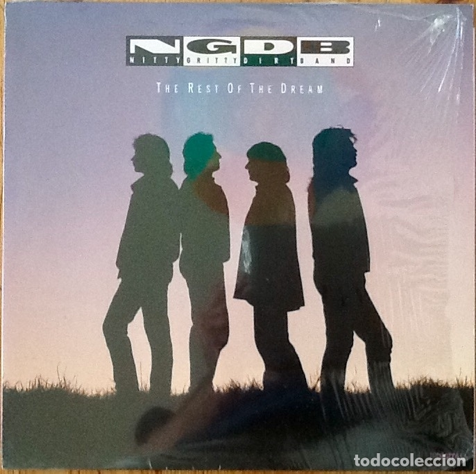NITTY GRITTY DIRT BAND : THE REST OF THE DREAM [DEU 1990] LP (Música - Discos - LP Vinilo - Country y Folk)