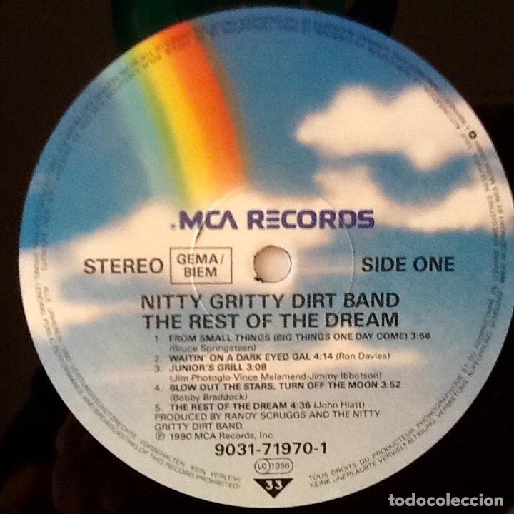 Discos de vinilo: NITTY GRITTY DIRT BAND : THE REST OF THE DREAM [DEU 1990] LP - Foto 3 - 172960438