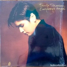 Discos de vinilo: TANITA TIKARAM : EVERYBODY'S ANGEL [DEU 1991] LP. Lote 172960699