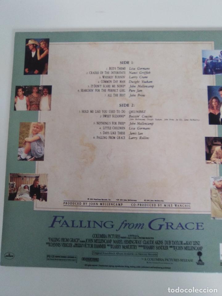 Discos de vinilo: FALLING FROM GRACE ( 1992 MERCURY HOLLAND ) JOHN COUGAR MELLENCAMP JOHN PRINE DWIGHT YOAKAM LISA GER - Foto 2 - 172967550