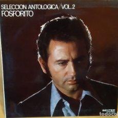 Discos de vinilo: LP FOSFORITO: SELECCIÓN ANTOLÓGICA VOL.2, CON PACO DE LUCÍA,1971,GATEFOLD,COMO NUEVO (NM_NM). Lote 172999800