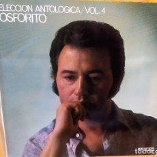 Discos de vinilo: LP FOSFORITO: SELECCIÓN ANTOLÓGICA VOL.4, CON PACO DE LUCÍA,1971,GATEFOLD,COMO NUEVO (NM_NM). Lote 173000080