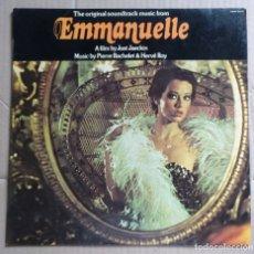 Discos de vinilo: MUSICA, DISCO VINILO LP´S, LP - BANDA SONORA PELICULA EMMANUELLE, WARNER BROS. Lote 173005403