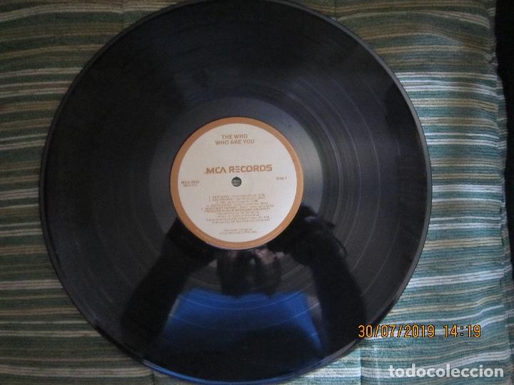 Discos de vinilo: THE WHO - WHO ARE YOU LP - ORIGINAL U.S.A. - MCA RECORDS 1978 CON FUNDA INT. GENERICA DE LA MCA - - Foto 13 - 173011387