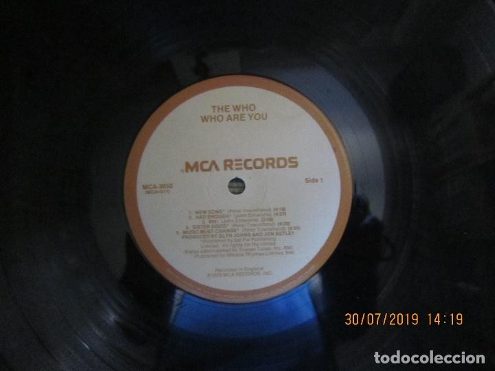Discos de vinilo: THE WHO - WHO ARE YOU LP - ORIGINAL U.S.A. - MCA RECORDS 1978 CON FUNDA INT. GENERICA DE LA MCA - - Foto 14 - 173011387
