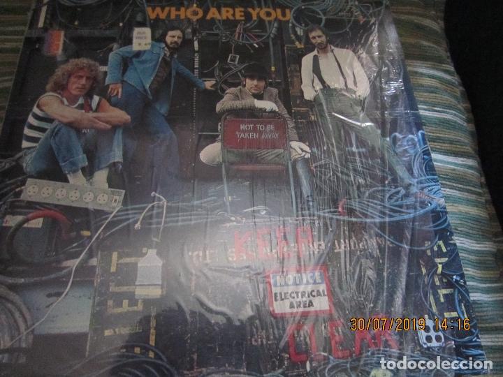 THE WHO - WHO ARE YOU LP - ORIGINAL U.S.A. - MCA RECORDS 1978 CON FUNDA INT. GENERICA DE LA MCA - (Música - Discos - LP Vinilo - Pop - Rock - Extranjero de los 70)
