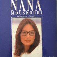 Discos de vinilo: NANA MOUSKOURI - CONCIERTO EN ARANJUEZ - DOBLE LP - PHILIPS - POLYGRAM - 1989. Lote 173018922