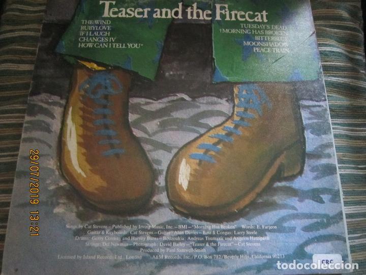 Discos de vinilo: CAT STEVENS - TEASER AND THE FIRECAT LP- ORIGINAL U.S.A. - A&M RECORDS 1971 - GATEFOLD COVER - - Foto 2 - 173020580