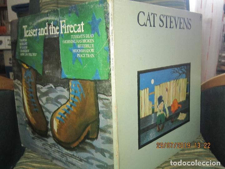Discos de vinilo: CAT STEVENS - TEASER AND THE FIRECAT LP- ORIGINAL U.S.A. - A&M RECORDS 1971 - GATEFOLD COVER - - Foto 3 - 173020580