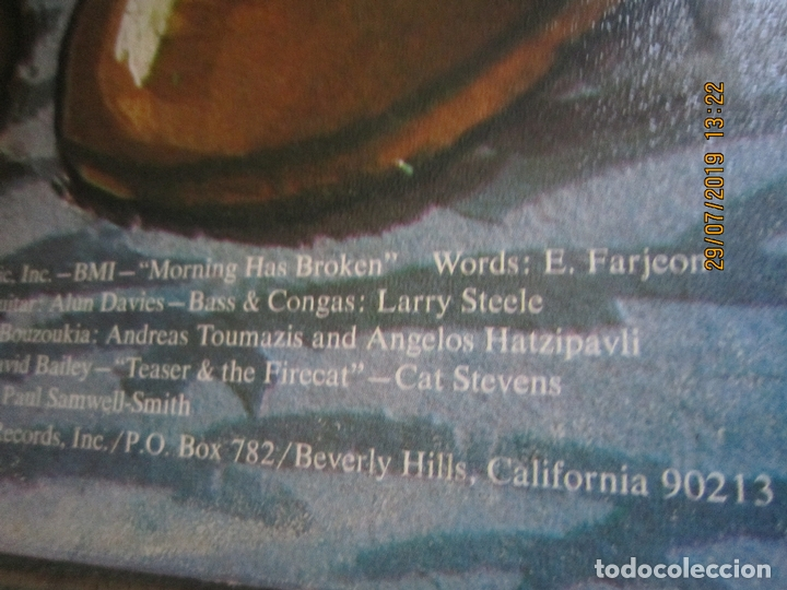 Discos de vinilo: CAT STEVENS - TEASER AND THE FIRECAT LP- ORIGINAL U.S.A. - A&M RECORDS 1971 - GATEFOLD COVER - - Foto 4 - 173020580