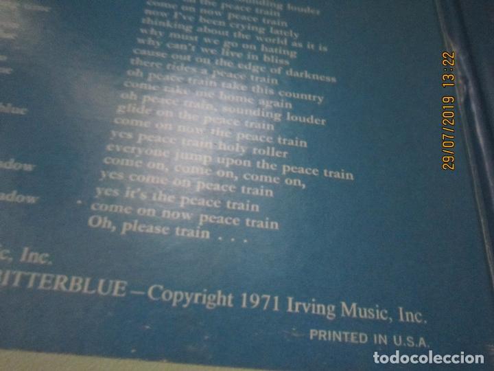 Discos de vinilo: CAT STEVENS - TEASER AND THE FIRECAT LP- ORIGINAL U.S.A. - A&M RECORDS 1971 - GATEFOLD COVER - - Foto 7 - 173020580