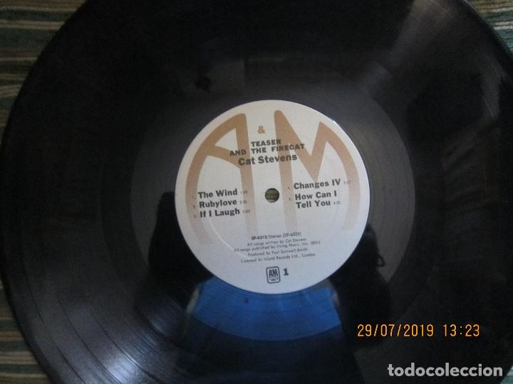Discos de vinilo: CAT STEVENS - TEASER AND THE FIRECAT LP- ORIGINAL U.S.A. - A&M RECORDS 1971 - GATEFOLD COVER - - Foto 13 - 173020580