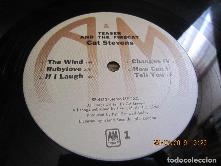 Discos de vinilo: CAT STEVENS - TEASER AND THE FIRECAT LP- ORIGINAL U.S.A. - A&M RECORDS 1971 - GATEFOLD COVER - - Foto 14 - 173020580