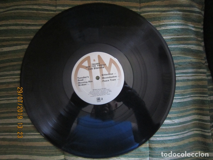 Discos de vinilo: CAT STEVENS - TEASER AND THE FIRECAT LP- ORIGINAL U.S.A. - A&M RECORDS 1971 - GATEFOLD COVER - - Foto 15 - 173020580