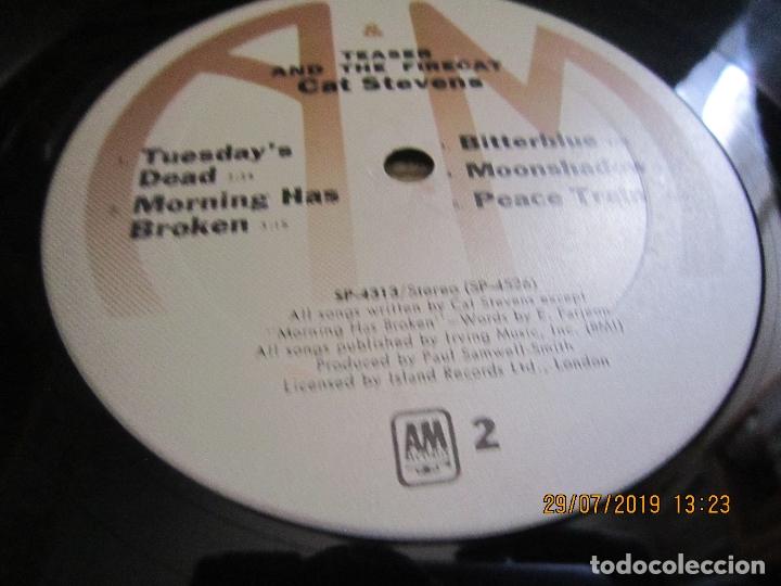 Discos de vinilo: CAT STEVENS - TEASER AND THE FIRECAT LP- ORIGINAL U.S.A. - A&M RECORDS 1971 - GATEFOLD COVER - - Foto 17 - 173020580