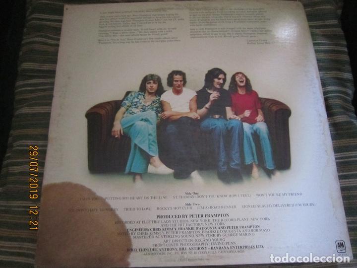 Discos de vinilo: PETER FRAMPTON - I´M IN YOU LP-ORIGINAL U.S.A. - A&M RECORDS1977 - PROMOTIONAL COPY - LABEL BLANCA - Foto 19 - 173023349