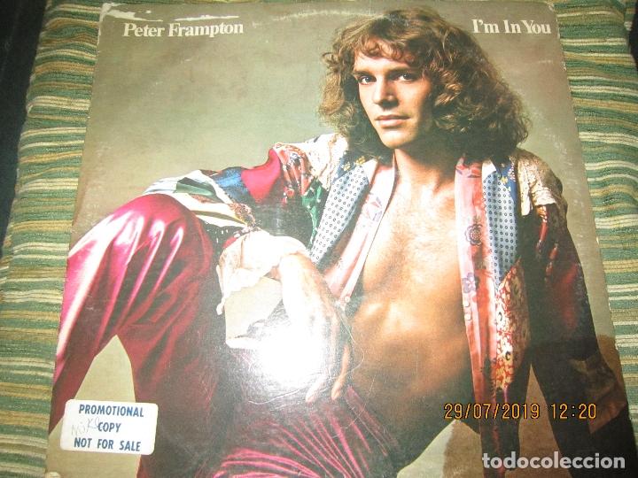 Discos de vinilo: PETER FRAMPTON - I´M IN YOU LP-ORIGINAL U.S.A. - A&M RECORDS1977 - PROMOTIONAL COPY - LABEL BLANCA - Foto 20 - 173023349