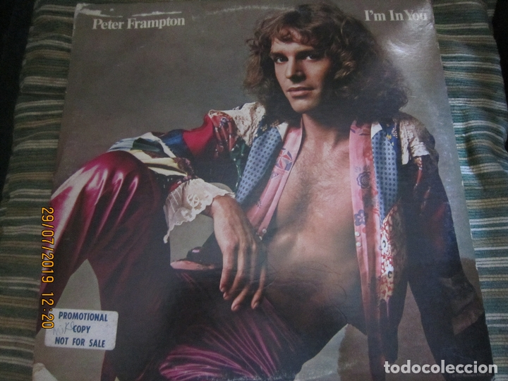 PETER FRAMPTON - I´M IN YOU LP-ORIGINAL U.S.A. - A&M RECORDS1977 - PROMOTIONAL COPY - LABEL BLANCA (Música - Discos - LP Vinilo - Pop - Rock - Extranjero de los 70)