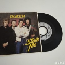 Discos de vinilo: QUEEN / SAVE ME / SINGLE 45 RPM EMI. Lote 206467885