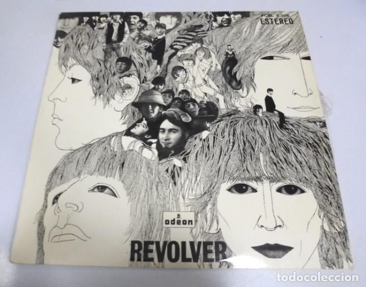 LP. THE BEATLES. REVOLVER. ODEON. 1966. ESTEREO (Música - Discos - LP Vinilo - Pop - Rock Extranjero de los 50 y 60)