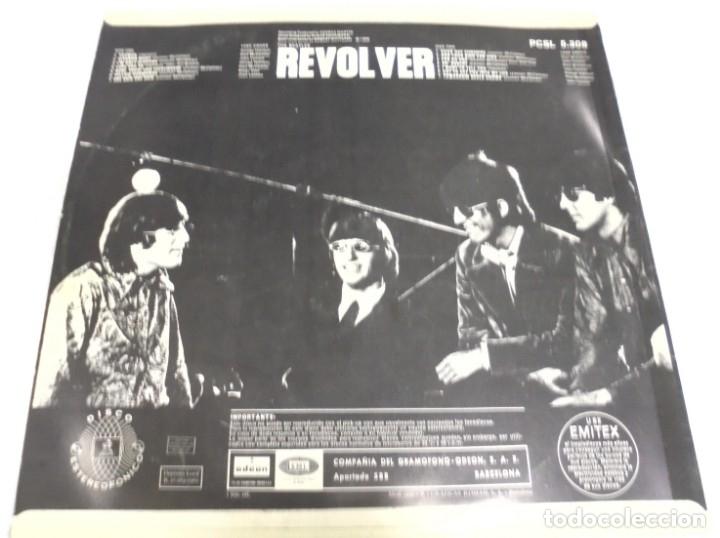 Discos de vinilo: LP. THE BEATLES. REVOLVER. ODEON. 1966. ESTEREO - Foto 2 - 173037108