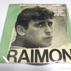 Discos de vinilo: LP. RAIMON. DISC ANTOLOGIC DE LES SEVES CANCONS. 1964. EDIGSA. Lote 173038868