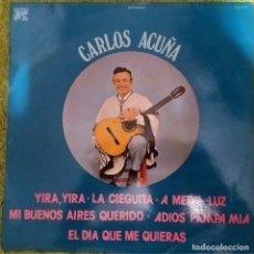 Discos de vinilo: LP CARLOS ACUÑA Y SU ORQUESTA TÍPICA ARGENTINA : ESPAÑA 1976, CAU-423 ,COMO NUEVO(NM_NM). Lote 173049322