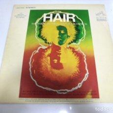 Discos de vinilo: LP. HAIR. THE AMERICAN TRIBAL LOVE-ROCK MUSICAL. 1968. RCA NEW YORK. Lote 173058314