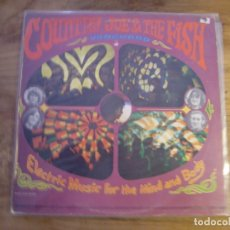Discos de vinilo: COUNTRY JOE & THE FISH - ELECTRIC MUSIC FOR THE MIND AND BODY (LP, ALBUM, RE) . Lote 173066184